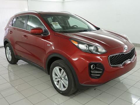 New 2017 Kia Sportage 4d SUV AWD LX Popular