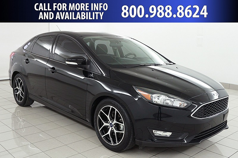 Pre Owned 2017 Ford Focus 4d Sedan Sel