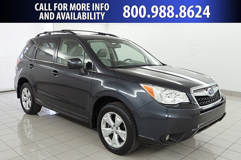Pre Owned 2016 Subaru Forester 4d Suv I Limited