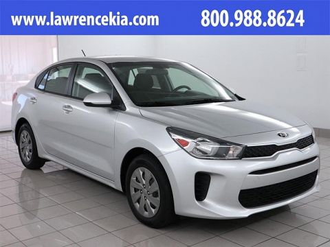 New 2019 Kia Rio 4d Sedan S