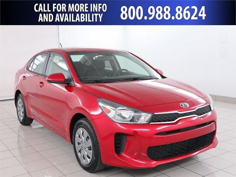 New 2020 Kia Rio 4d Sedan S
