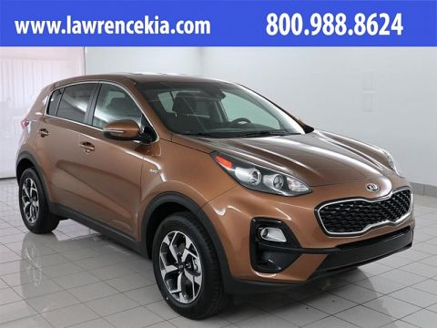New 2020 Kia Sportage 4d SUV AWD LX w/Popular Pkg