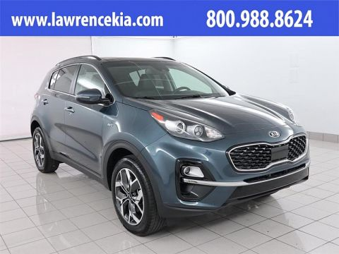 New 2020 Kia Sportage 4d SUV AWD EX w/Technology Pkg